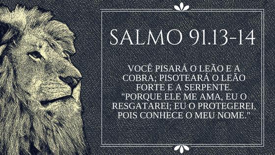 Salmo 91.13-14