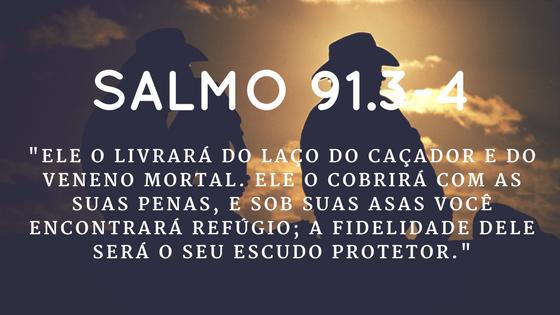 Salmo 91.3-4