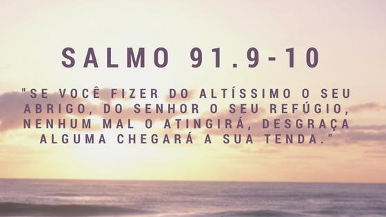 Salmo 91.9-10